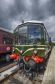 Iris the railcar by Steev Stamford