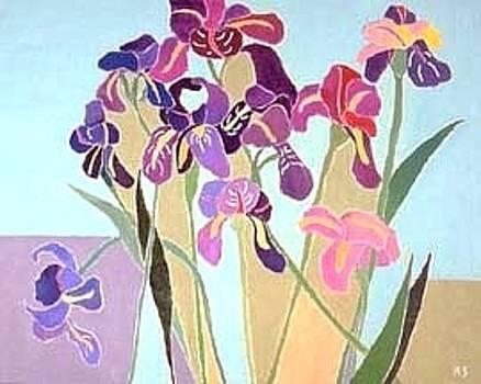 Irises by Martin Silverstein