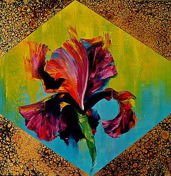 Irises by Nelu Gradeanu