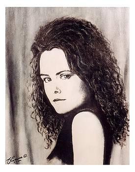 Irish actress  Maeve McGrath by Liam O Conaire