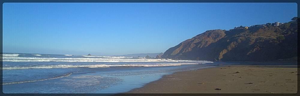 Lisa Dunn - Irish Beach with border
