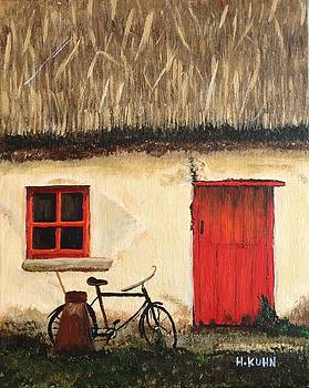 Irish Cottage by Helen Kuhn