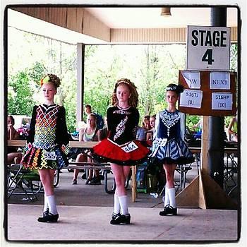 Irish Dance Competitors by Tammy Winand