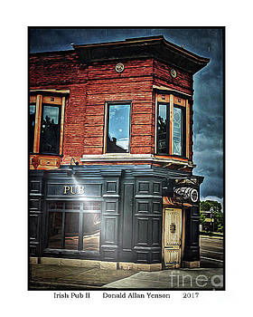 Irish Pub II by Donald Yenson