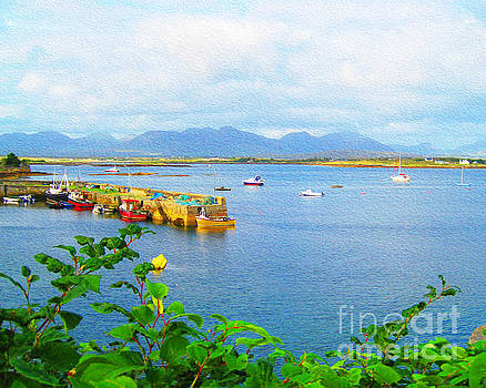 Roundstone Seaport by Joseph Re