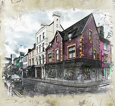 Irish Street by Nancie Rowan
