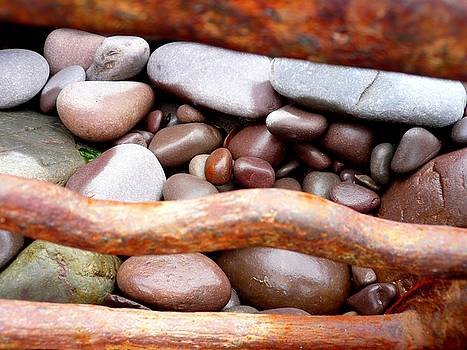 Iron And Pebbles by Jane Clatworthy