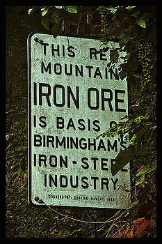 Iron Ore Seam Poster by Just Birmingham