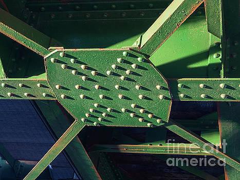 Iron rail bridge by Giovanni Bertagna