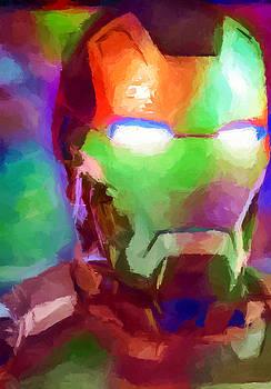 Ricky Barnard - Ironman Abstract Digital Paint 1