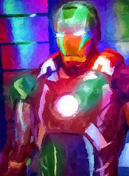 Ricky Barnard - Ironman Abstract Digital Paint 2