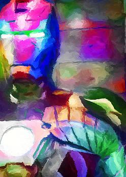 Ricky Barnard - Ironman Abstract Digital Paint 3