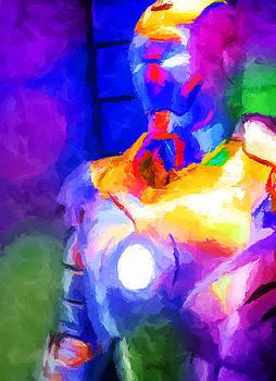 Ricky Barnard - Ironman Abstract Digital Paint 4