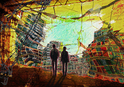 Irritation of Urban Life by Haruo Obana