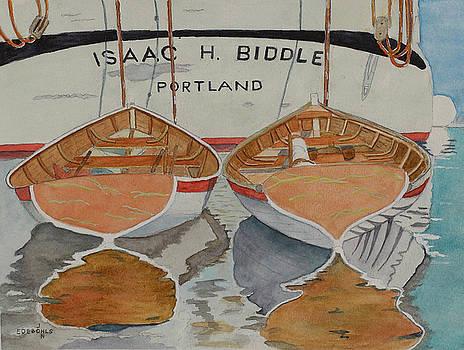 Isaac H. Biddle by John Edebohls