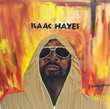 Isaac Hayes by Del rico  Cortez