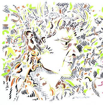 Isaac Newton by Dave Martsolf