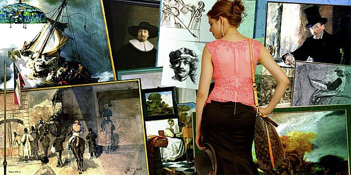 Isabella Stewart Gardner, art theft gallery by Thomas Pollart