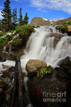 Isabelle Falls Colorado Rocky Mountains by Steve Boice