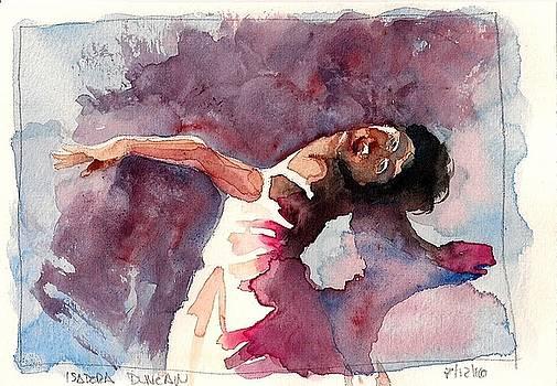 Isadora Duncan by Tayete Garcia