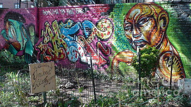 Isham Park Graffiti  by Cole Thompson