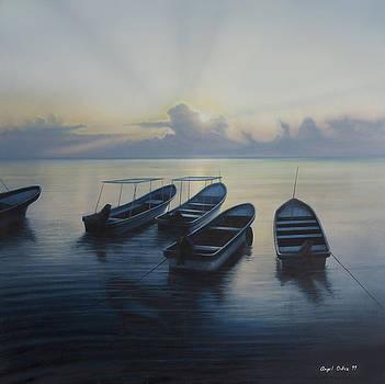 Isla Mujeres by Angel Ortiz