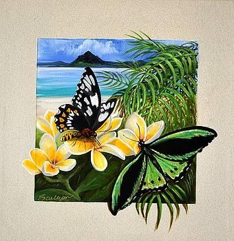 Island Birdwing by Sherry Cullison