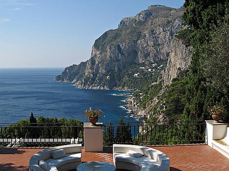 Island Capri - A Nice Terrace View by Kiril Stanchev