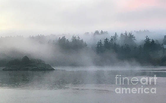 Island in the Mist by William Wyckoff