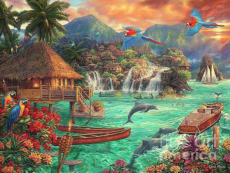 Island Life by Chuck Pinson
