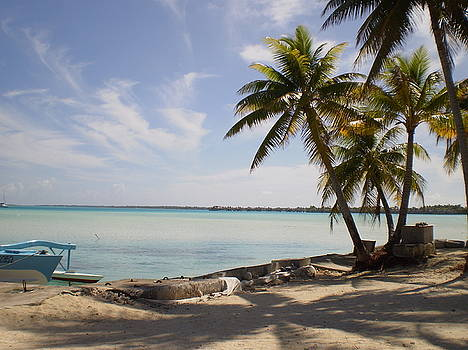 Island Motu Bora Bora by Paul Jessop