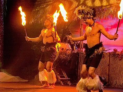 Island of Fire Dancers by Julie Grace