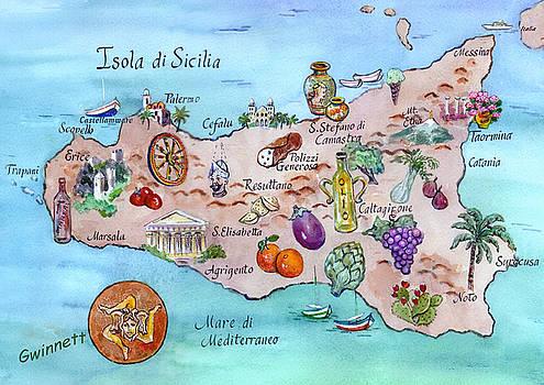 Kathleen  Gwinnett - Island Of Sicily