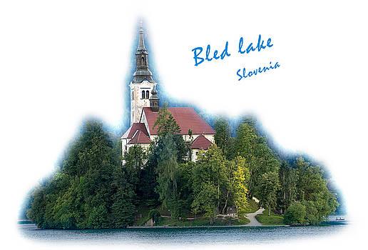 Vyacheslav Isaev - Island on Bled lake, Slovenia, named