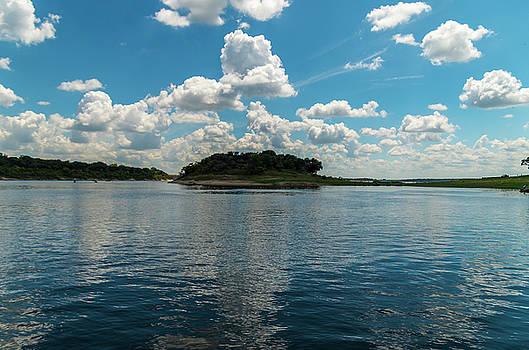 Island On The Lake by Bob Marquis