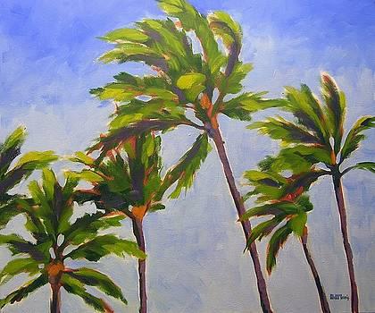 Island Palms by Mary McInnis