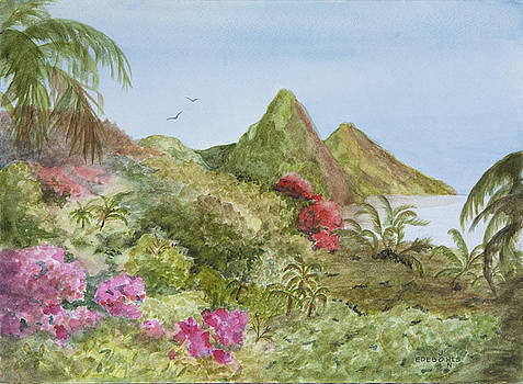 Island Paradise by John Edebohls