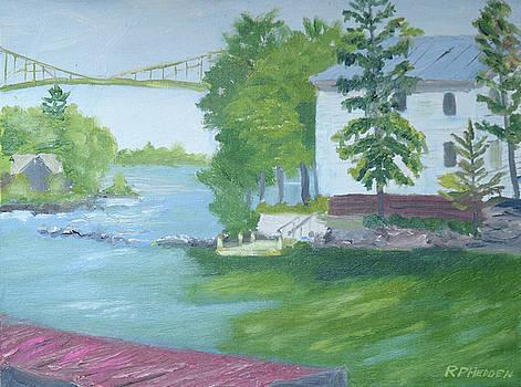 Island Retreat 2 by Robert P Hedden