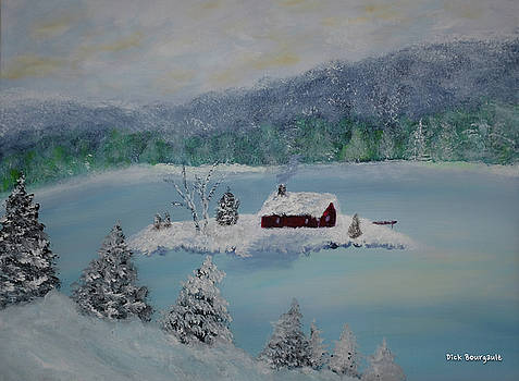 Island Retreat by Dick Bourgault