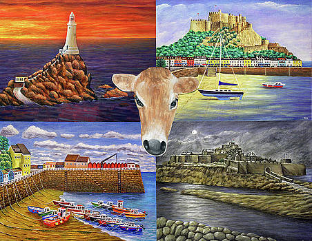 Island Scenes Jersey by Ronald Haber