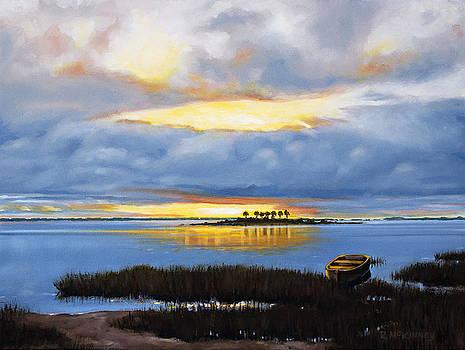 Island Sunset by Rick McKinney