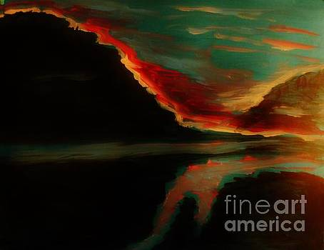 Fire Sky by Marie Bulger
