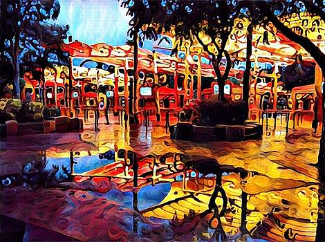 Islands Of Adventure in the rain by Bess Yearsley