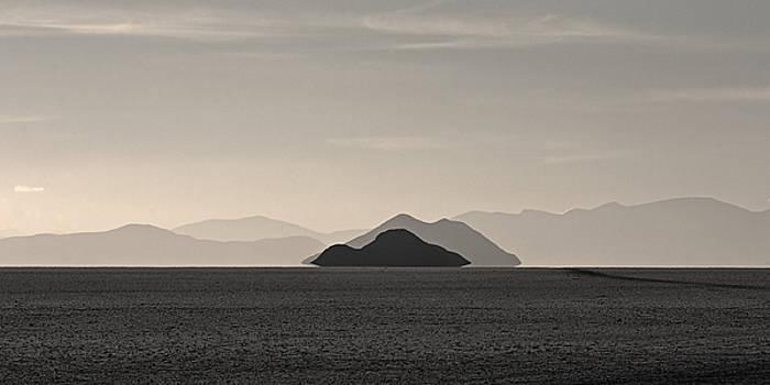 Islands On The Salar by Ron Dubin