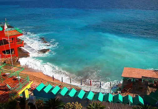 Isle of Capri beach by Jim Wright