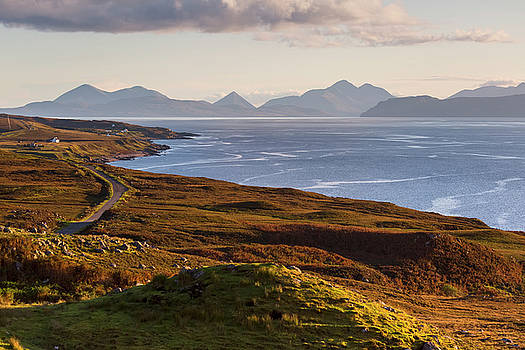 Isle of Skye from the Applecross Peninsula by Derek Beattie