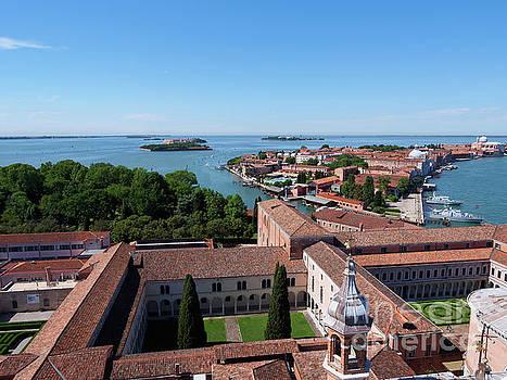 Isola di San Giorgio Maggiore in Venice by Louise Heusinkveld