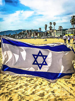 Israel Flag by Julian Starks