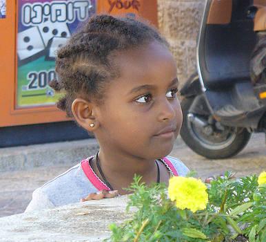 Israeli Child by Joyce Goldin