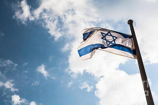 Israeli Flag by Kaitlyn Suter